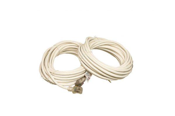 12 gauge White SJTW extension cord